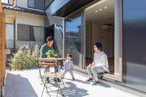 中里工務店R+house家族で建てる家